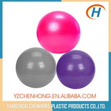 65 cm yoga ball with pump, pvc smooth ball, rubber bouncing ball