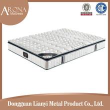 China spring mattress factory queen / king sponge mattress topper customized