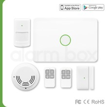 (MAIBO)Self-monitored GSM alarm system with carbon monoxide detector alarm, security alarm system google play store mobile app