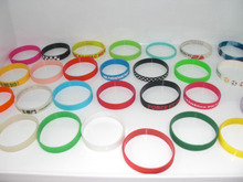 Various Colors Rubber Silicone Band