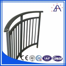 25 years Chinese manufacturer for aluminum handrail brushed