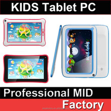 """2015 Hot sale and New Mini Kids Tablet PC Android 4.4 OS 4.3"""" inch Smart PC Tablet 7 inch kids tablet pc"""