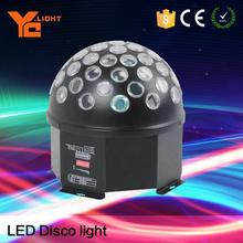 Top Chinese Stage Equipment Producer 6x3w Led Ball Rotating Led Lights