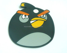 Promotional item 2015 hot selling angry birds strong fridge magnet