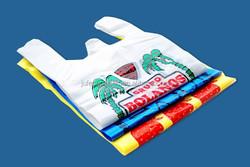 vest handle shopping plastic pe turkey plastic bags