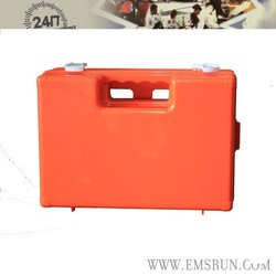 Top quality family use empty plastic first aid box with lock