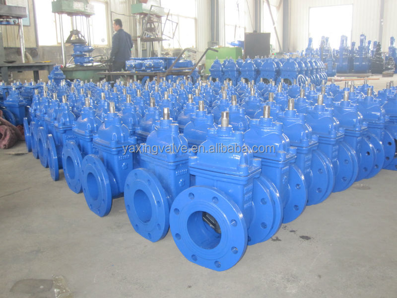 Z45X no-rising resilient seated water stem gate valve
