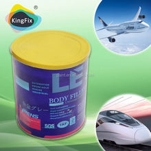 Hot sale used for filler indentation/chemical body filler supplier
