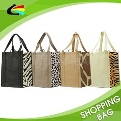 Custom Printing Non Woven Reusable Grocery Shopping Tote Bag