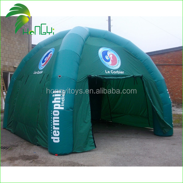 Guangzhou Hongyi Company Making Big Inflatable Tent