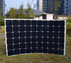 180W Sun Power flexible solar panel with waterproof junction box
