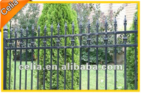 Aluminum gates, decorative interior metal gates