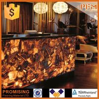 blood agate stone natural stone for hotel& bar project design