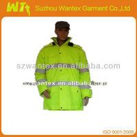 EN471/ EN11611/EN11612/EN1149 HI-VIZ FR ANTI-STASTIC WATERPROOF WINTER JACKET
