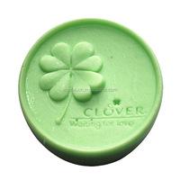 Clover design silicone rubber soap mold