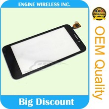 newest factory price !!new arrival for alcatel parts digitizer