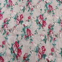 poplin printing fabric textile 40s cotton fabric for woman's dress clothing