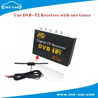 Colombia Russia Car DVB-T2 Digital TV Receiver with one tuner (cheap)