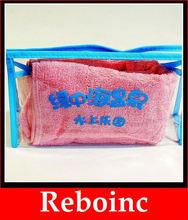 Heat Seal Sealing & Handle and Plastic Material PVC zipper gift bag