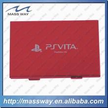 custom two layer laser ID credit EVA metal aluminum business card case