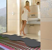 made in China bathroom floor teflon floor heating mat system