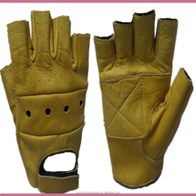 China manufacturer Leather driving gloves for safety Car driving gloves and Pro biker motorcycle gloves