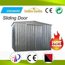 2015 attractive look innovative garden house sliding door flat roof style