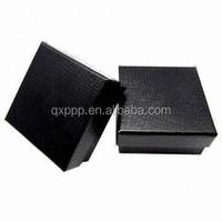 China cheap custom pu leather paper gift box, packaging box, watch box