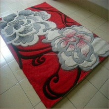 Polyester handmade rugs hand tufted rugs