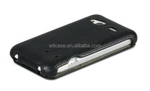 Cell phone protector PU leather phone case for HTC C110e Radar