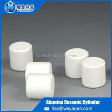 Dry Press Ceramic beads 92%-93% Alumina Columns milling media for ball mill grinding