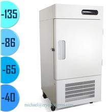 MOQ 1 set -70, -80, -40 ultra-low degree industrial vertical laboratory medical lab cryo deep refrigerator freezer