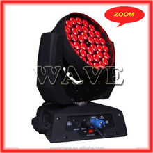 WLEDM-11-4 36 pcs rgbw 10w leds zoom wash moving head decorations in church wedding