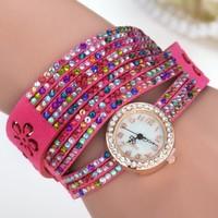 fashion quartz wrist watch Luxury diamond watch vintage women watches
