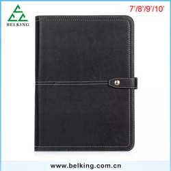 Vintage Leather Book Case For iPad Mini 4, Smart Stand PU Covers Case For iPad Mini 4 Leather Cover