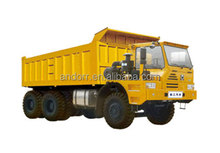 mining dump truck with offset cab platform TFW111