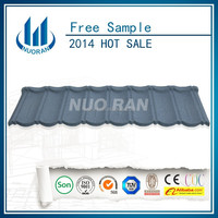 lowest price for the steel metal stone interlocking roof tile