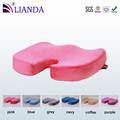 conforto da espuma da memória esponja gel almofada cadeira de rodas substituído com tampa