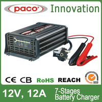 Soft Start Mini Car Battery Charger 12Amp 12V Made in China CE, CB, RoHS