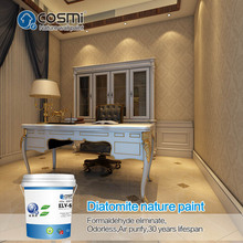 Enviromental wall paint for stencil wall pattern