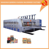 Fully automatic corrugated carton box flexo printer slotter rotary die cutter