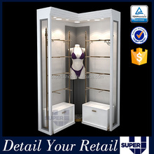 boutique display equipment furniture display cabinet for lingerie boutique