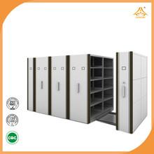 Simple design mass shelve steel pipe storage rack school furniture used in library