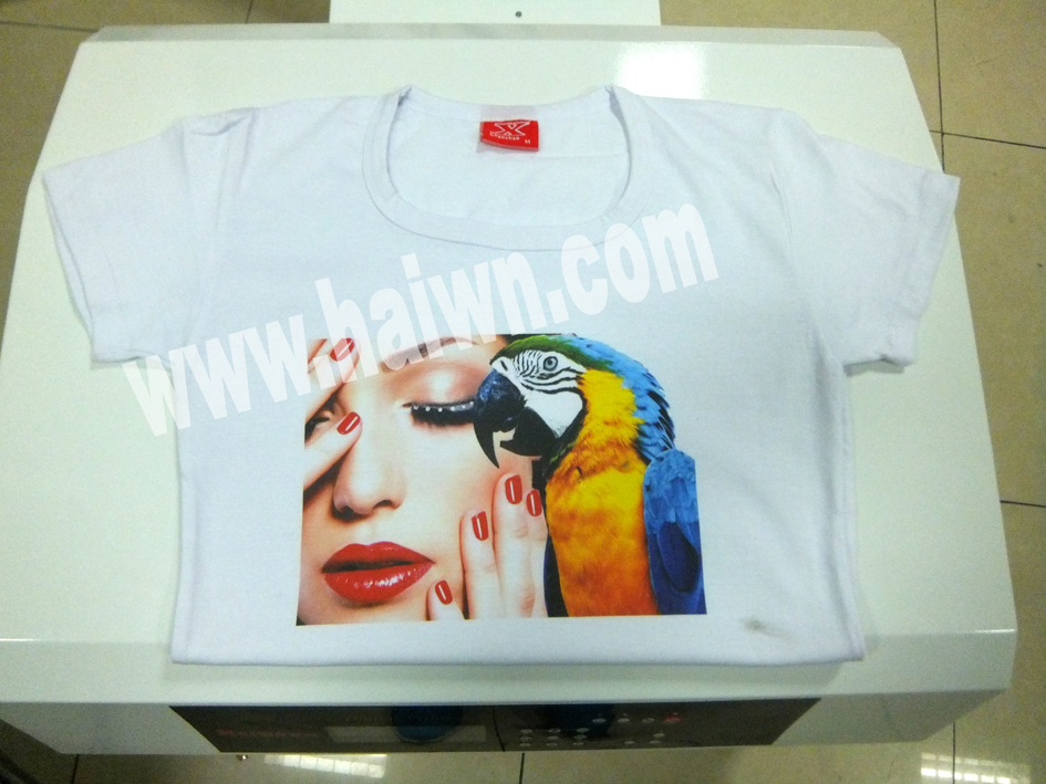 Sportswear T Shirt Printer Equipment Dye Sublimation
