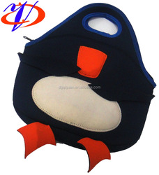 2015Fashion design trendy products neoprene lunch bag for kids