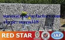 2.2 mm 1 * 1 * 2 m bloc en pierre mur / gabion mur de pierre / mortared pierre mur de soutènement