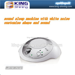 baby sleeping remote control sound machine with white noise sound