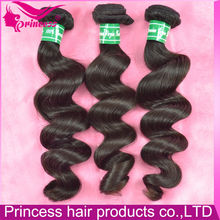7A grage top grade no shedding no tangel no chemical loose wave unprocessed brazilian hair