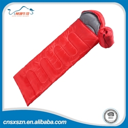 2015 hot sale polyester fabric camping sleeping bag