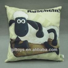 Decorative Square Sofa Cushion with Sublimation Printing